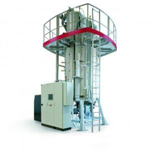 Solid state polycondensation (SSP); Decontamination dryers (deCon)